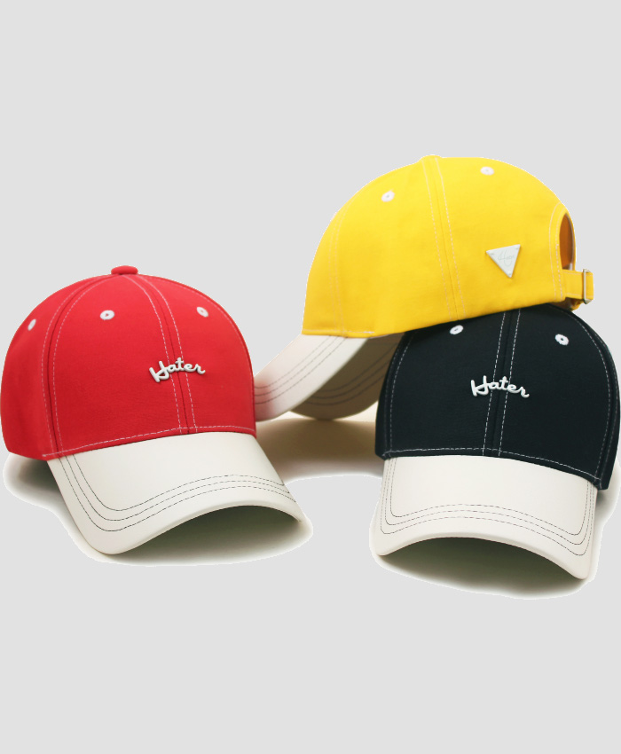HATER헤이터_HATER Curved Logo Cap Ver2