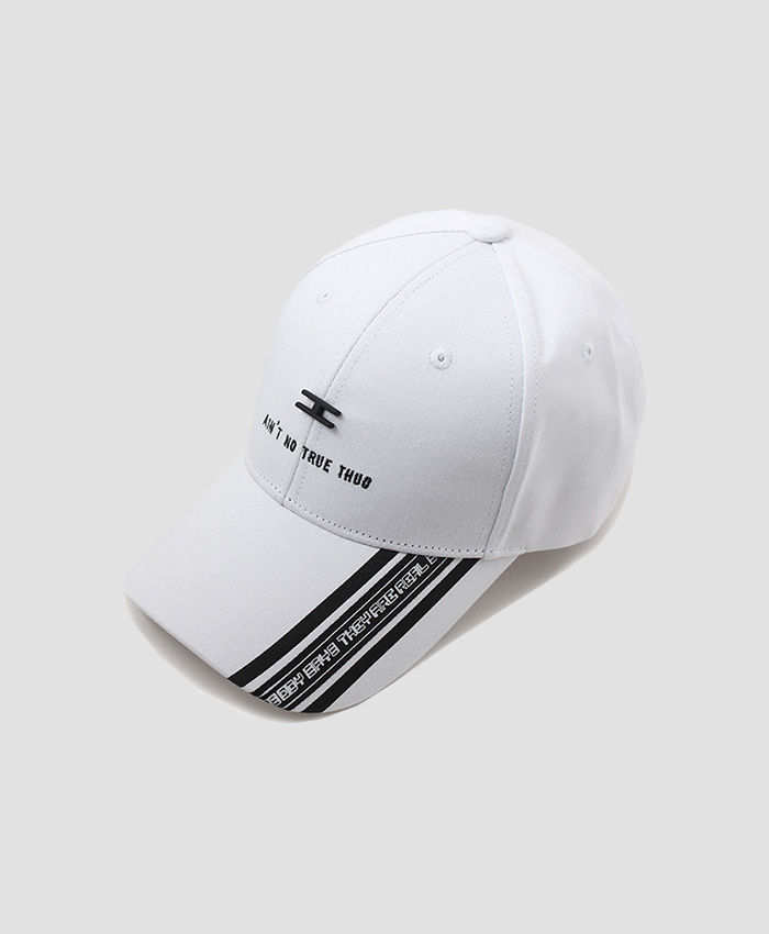 HATER헤이터_HATER A.N.T.T. Cap White