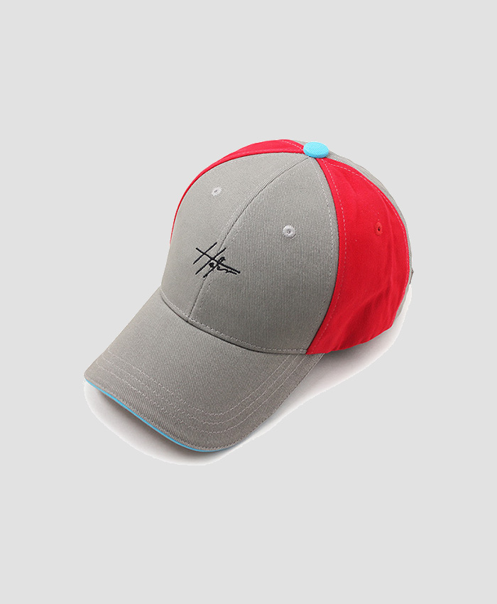 HATER헤이터_HATER Clunky Cap Gray/Red