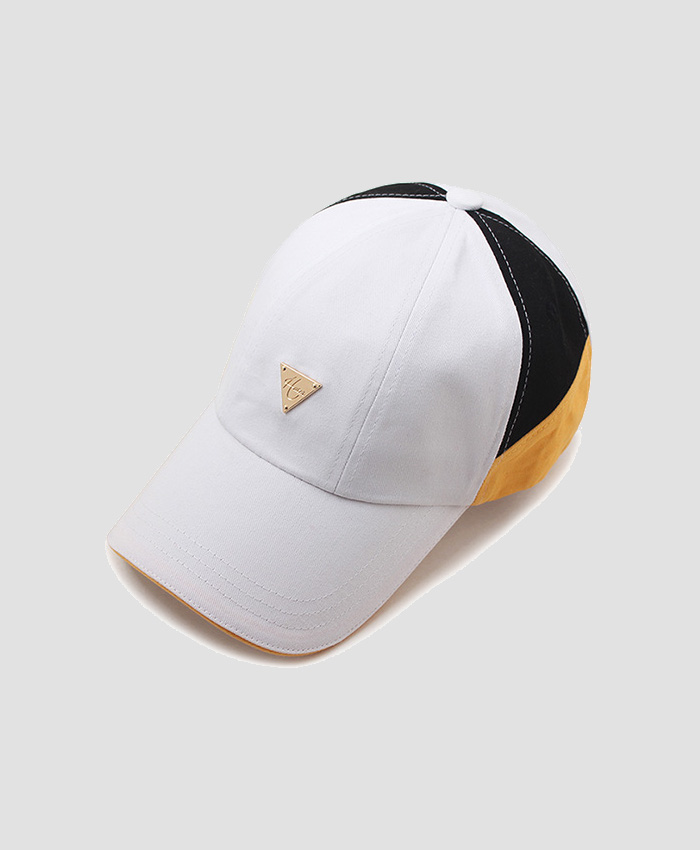 HATER헤이터_HATER Patchwork Cap White