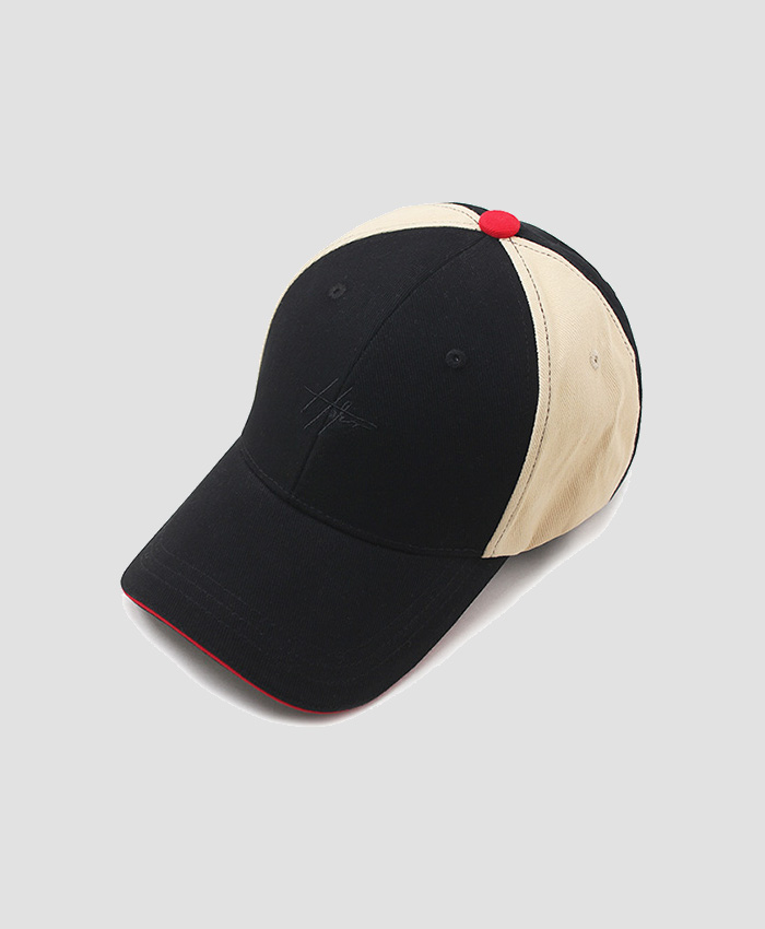HATER헤이터_HATER Clunky Cap Black/Beige