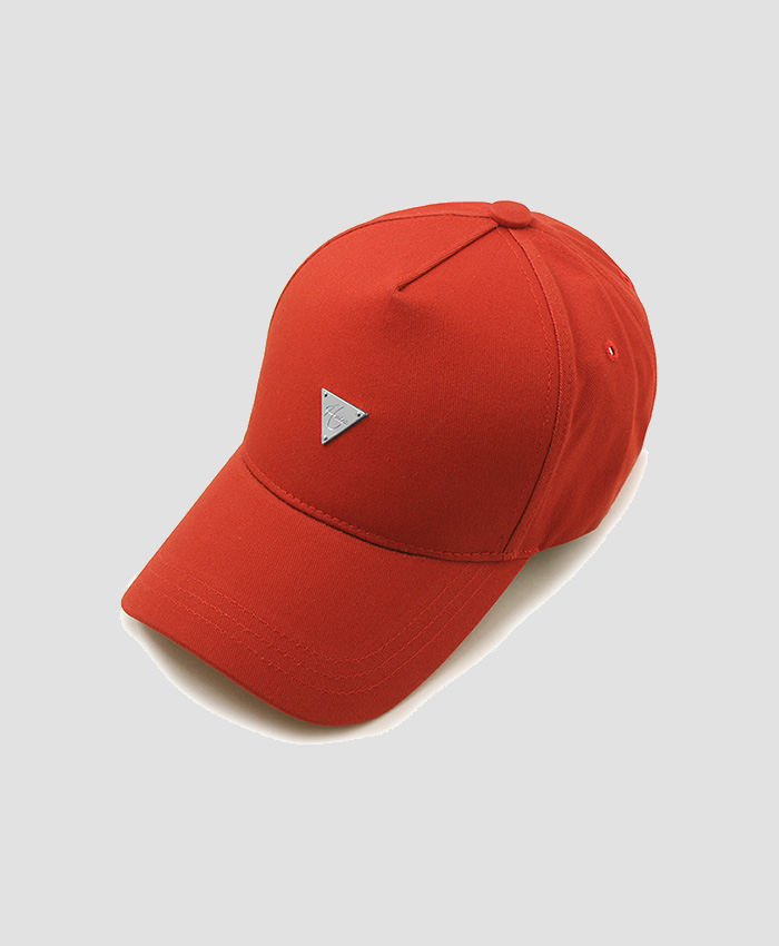 HATER헤이터_HATER Classic Logo Trucker Cap Red (Silver Logo)