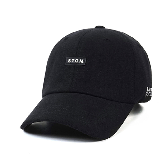 스티그마STGM OXFORD WASHING BASEBALL CAP BLACK