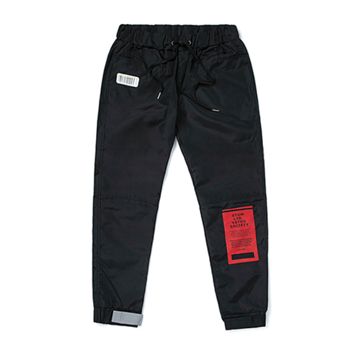 스티그마TIGER BENDING JOGGER PANTS BLACK
