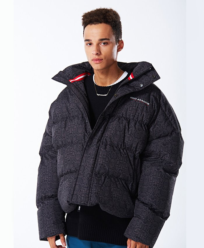 NASTY KICK네스티킥_[NSTK]NEO APACHE DOWN JACKET GREY (NK18A004H)