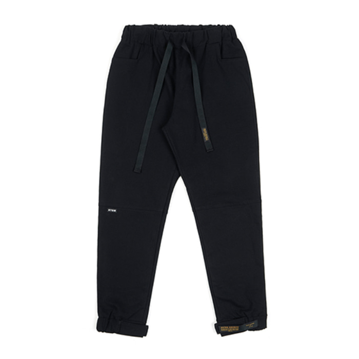 스티그마STGM OXFORD WIDE JOGGER PANTS BLACK