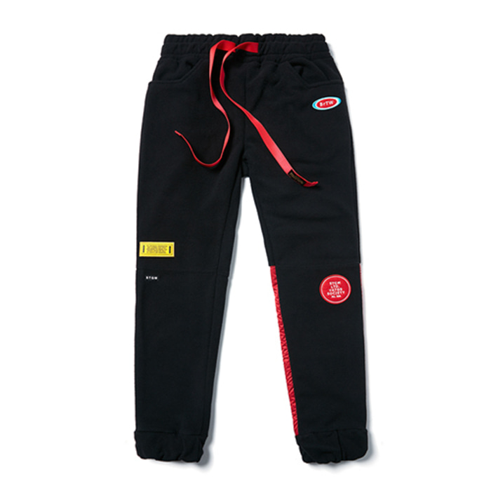 스티그마STGM FLEECE JOGGER PANTS BLACK