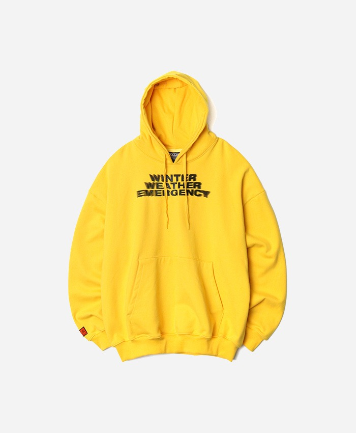 NASTYPALM네스티팜_[NP] W.W.E OVERSIZED HOODIE YELLOW (NP18A053H)