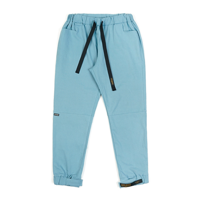스티그마STGM OXFORD WIDE JOGGER PANTS SKYBLUE