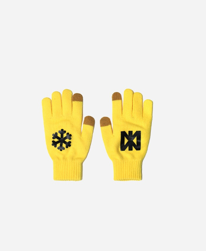 NASTYPALM네스티팜_[NP] SNOW FLOWER GLOVES YELLOW (NP18A109H)