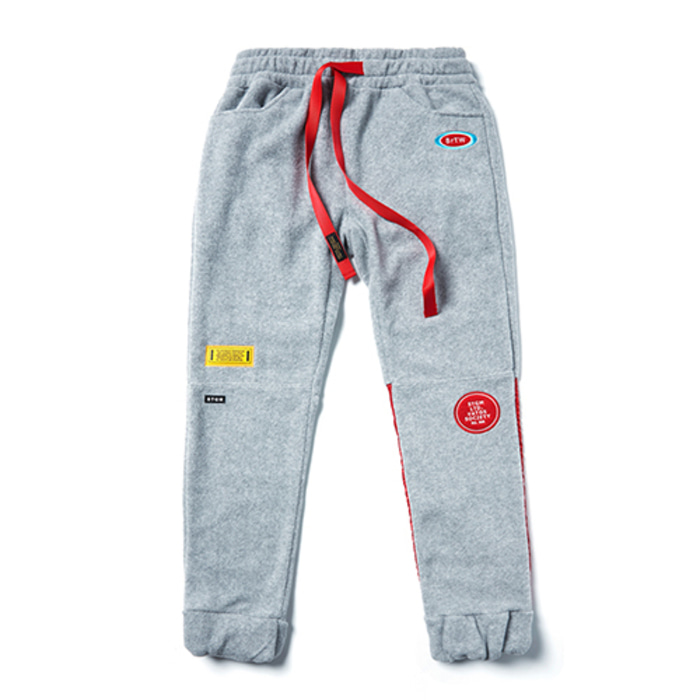 스티그마STGM FLEECE JOGGER PANTS GREY