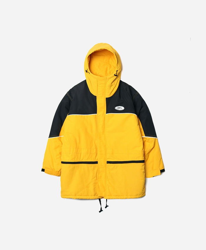NASTY PALM네스티팜_[NP] WINTER WARM SKI PARKA YELLOW (NP18A031H)