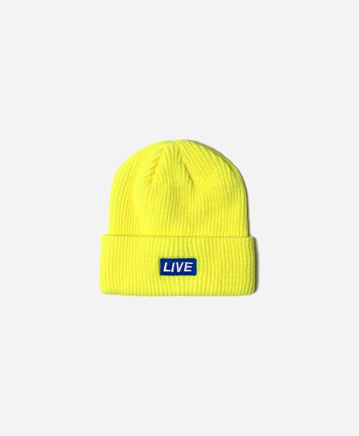 NASTYPALM네스티팜_[NP] LIVE SHORT BEANIE NEON GREEN (NP18A110H)
