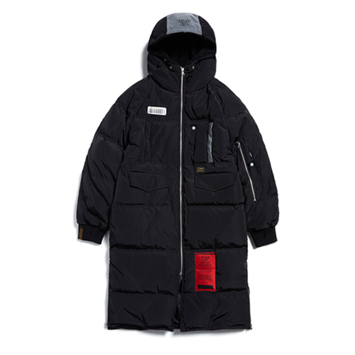 스티그마TIGER DUCKDOWN LONG PADDING JACKET BLACK