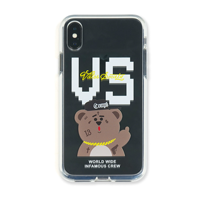 스티그마PHONE CASE VS BEAR CLEAR iPHONE Xs / Xs MAX / Xr
