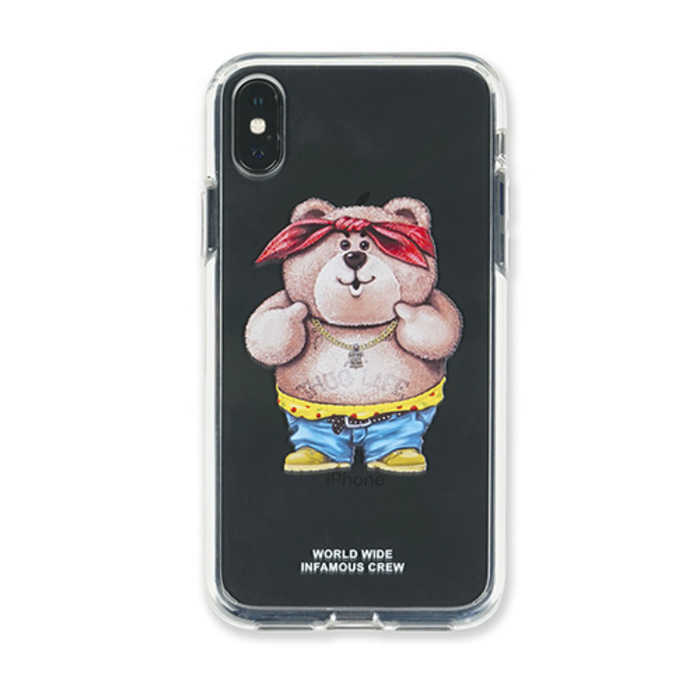 스티그마PHONE CASE CATSGANG CLEAR iPHONE Xs / Xs MAX / Xr