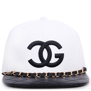 TRILL4트릴포_Inspired Chanel Snapback White