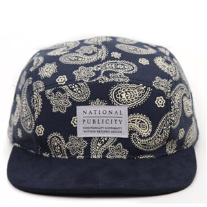 NATIONAL PUBLICITY내셔널 퍼블리시티_PAISLEY CAMPCAP NAVY