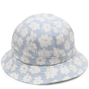 NATIONAL PUBLICITY내셔널 퍼블리시티_FLOWER BUCKET HAT BLUE