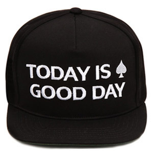 NATIONAL PUBLICITY내셔널 퍼블리시티_GOOD DAY SNAPBACK BLACK