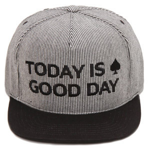 NATIONAL PUBLICITY내셔널 퍼블리시티_GOOD DAY SNAPBACK STRIPE BLACK
