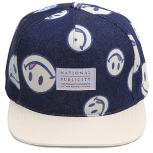 NATIONAL PUBLICITY내셔널 퍼블리시티_GOOD DAY SNAPBACK NAVY
