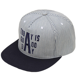 NATIONAL PUBLICITY내셔널 퍼블리시티_TODAY SNAPBACK _STRIPE NAVY