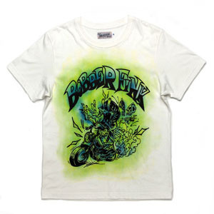 BRATSON브랫슨_BOBBER FINK T-SHIRTS (NEONGREEN)